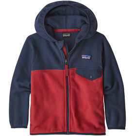 Patagonia Micro D Snap-T Jacket Children red/blue